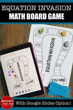 Math Board Games, Math Games, Math Place Value, Place Values, Math Fraction Games, Fun Math, Math Math, Math Centers, Math Stations