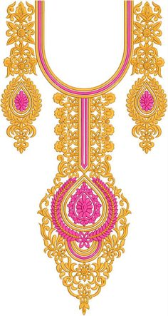 Latest Neck Designs for Kurtis / Dress / Suit / Men's Neck Download Embroidery Design File in .EMB Format. Border Embroidery Designs, Machine Embroidery Patterns, Hand Embroidery, Salwar Neck Designs, Blouse Designs, Katan Saree, Suit Men, Ramadan Decorations, Lahenga