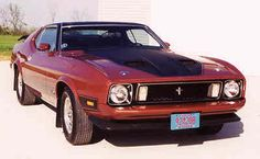 This was my dad's car...I would love to have one again! Great fun to drive...it literally growled and pounced! '73 Ford Mustang Mach 1