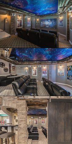 Unique Home Movie theater Design