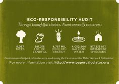 Eco Audit - sustainable packaging | Numi Organic Tea