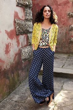 Image result for pants wide leg wedges