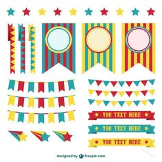 More than a million free vectors, PSD, photos and free icons. Exclusive freebies and all graphic resources that you need for your projects Carnival Decorations, Carnival Themes, Circus Theme, Circus Party, Photo Garland, Little Pony Party, Carnival Birthday, Birthday Cakes, Banner Vector