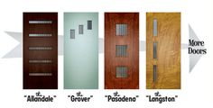 Crestview Doors, a custom door shop in Austin that specializes in fun, funky & colorful doors, both inside & out.