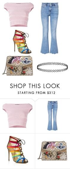 """""""Untitled #192"""" by shellynrl27 on Polyvore featuring Alexander McQueen, MiH, Salvatore Ferragamo and Gucci"""