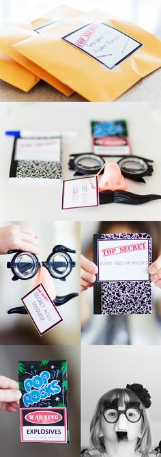 Spy Kits - Love the Glass and the pop rocks