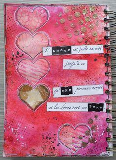 """Résultat de recherche d'images pour """"art journal amour"""""""