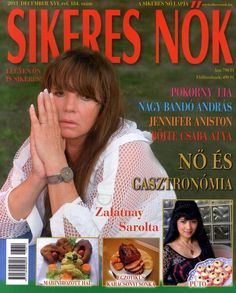 Zalatnay Sarolta (2013.12. Sikeres nők) #ZalatnaySarolta