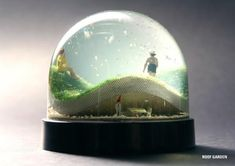 nisse landscape snow globes - Once upon a time, nisses, or tomtes, used to roam around the Scandinavian landscape among humans; the goal of these Nisse Landscape Snow Globes is . Water Globes, Snow Globes, Glitter Globes, Glass Paperweights, Weird And Wonderful, Glass Globe, Snowball, Christmas Elf, Small World
