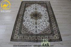 Hand knotted silk rug # Rug No.: P3218# Quality: 180L (225kpsi) # Size: 4X6ft (122X183cm) # Material: 100%Silk # wholesale Price: $840/piece # If you have any interests, please email to sales@bosicarpets.com   handmadesilkcarpet#handmadecarpet#handmaderug#silkrug#silkcarpet#carpet#carpets#rugs#silkcarpets#silkrugs#rug#persianrug#persian#handknottedrug#chineserug#turkeyrug#persianrug#persiancarpets#antique#arearug#yilongcarpet#wholesalerug#round#runner#carpets#bosicarpet#