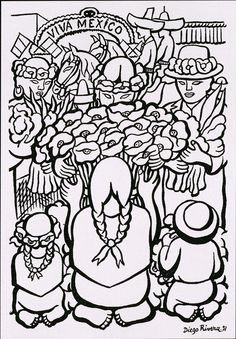 diego rivera coloring pages - every month is black history month black history coloring