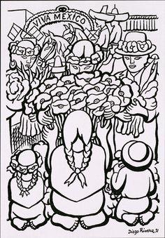 ... Diego Rivera on Pinterest | Diego rivera, Frida kahlo and Art lessons