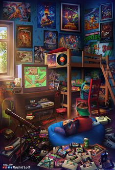 Childhood in the .- Die Kindheit in den Jahren. Childhood in the . Wallpapers Android, Gaming Wallpapers, Animes Wallpapers, Ps Wallpaper, Game Wallpaper Iphone, Retro Kunst, Retro Art, Retro Video Games, Video Game Art