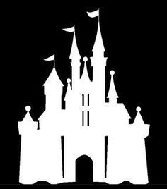 DISNEY MICKEY MOUSE CASTLE DECAL STICKER CAR WINDOW DECALS