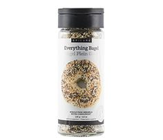 Add 2 g fibre per serving & omega-3 fatty acids to any savoury dish.Reminiscent of a big bite of a seasoned toasted bagel.Contains chia, toasted sesame seeds, garlic & onion.Mix into hummus or cream cheese with crackers. Sprinkle steamed veggies, salads, soups & more.