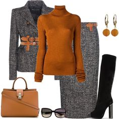 outfit 5255 by natalyag on Polyvore featuring MARIOS, Tom Ford, Marc Jacobs and Luxiro