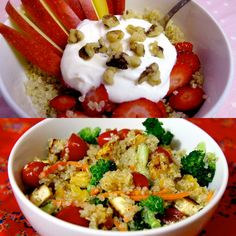 Lots of great quinoa recipe ideas