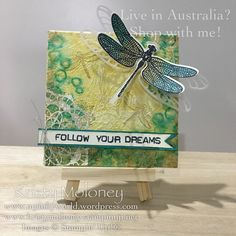 Stampin' Up! Dragonfly Dreams Mini Canvas