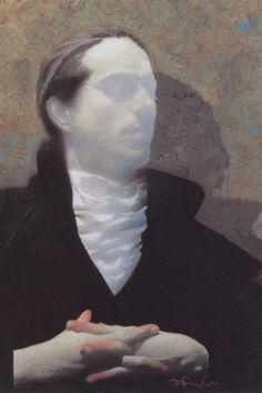 mark english, artist   English's beautifully sensitive portrait of Dracula