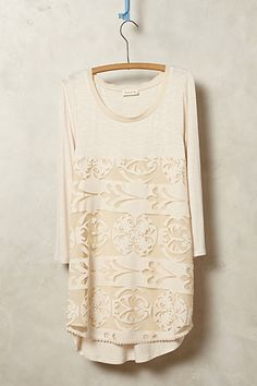Capriccio Lace Tunic - anthropologie.com