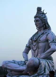 Shiva statue at Rishikesh