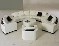 Cheap leather sofa, Buy Quality sofa round directly from China real leather sofa Suppliers: Luxury Sofa Extra Large Settee Nice Real Leather Sofas Round Shaped Settee for Hotle, Villa Furniture Home Sofa Set Round Sectional, Sectional Living Room Sets, Sectional Couches, Living Rooms, Circular Couch, Curved Sofa, Sofa Design, Semi Circle Sofa, Half Circle