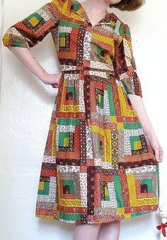 Quilt dress.  I love it!