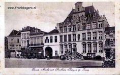 Bergen op Zoom ansichtkaarten oude briefkaarten fotos groote markt markiezenhof peperbus stadhuis gevangenpoort meeven beukendreef