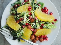 Shaved Brussels Sprouts Christmas Salad