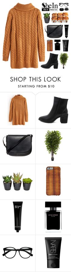 """SheIn 3"" by novalikarida ❤ liked on Polyvore featuring Mansur Gavriel, Nearly Natural, Bobbi Brown Cosmetics, Narciso Rodriguez, Retrò, NARS Cosmetics and Givenchy"