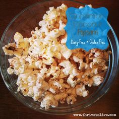 Cinnamon-Coconut Popcorn | Thrive: Faith, Family & Food
