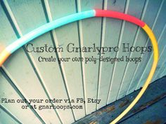 """Multi-colored Polypro - Gnarlypro Collection - Custom Polypro Designs  Tapes are magical, but wowza are hard surfaces damaging to such beautiful decor!  Getcho hoop on with a """"use-everywhere and anytime"""" designed polypro!"""