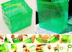 Tu Organizas.: 10 lixeiras criativas e recicladas