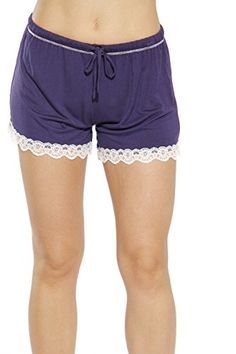f05a4e42b9b CS601105-BLK-S Christian Siriano New York Womans Pajamas Shorts - PJs -  Sleepwear at Amazon Women s Clothing store