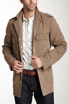 Huyton Union  Military Style Jacket