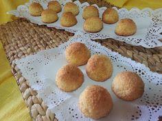 Coquitos faciles y rápidos en diez minutos - La cocina de Pedro y Yolanda Cornbread, Muffin, Breakfast, Ethnic Recipes, Desserts, Food, Shredded Coconut, Sweet Recipes, Deserts