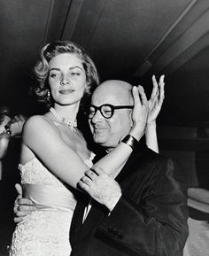 lauren bacall and swifty lazar at the seven year itch wrap party, 1954 • sam shaw • for @Melanie Clark