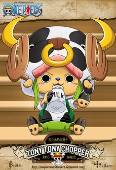 One Piece - Tony Tony Chopper by OnePieceWorldProject.deviantart.com on @deviantART