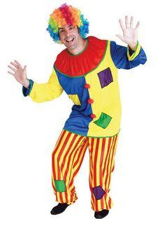 Хэллоуин Удивительные цирковом шут Клоун Костюм для Взрослых хэллоуин Унисекс Косплей одежда комбинезон Топ + Брюки + Нос купить на AliExpress
