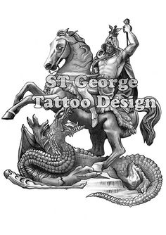 St George Tattoo Design