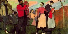Camino de fiesta, 1913 Aurelio Arteta