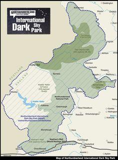 DONE Visit Northumberland International Dark Sky Park Northumberland National Park, Northumberland Coast, England Map, North East England, Cairngorms, Uk Holidays, Tourist Information, Dark Skies, Stargazing