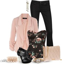 """Date Night~"" by chloe-813 on Polyvore"