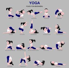 yoga asana chart  yoga asanas names ramdev yoga yoga