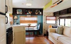 Camper Decorating Ideas: Laura's 5th Wheel Makeover -5th-wheel-camper-before-and-after