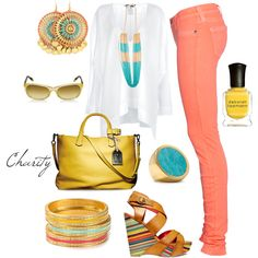 summer day..outfit..skinny jeans