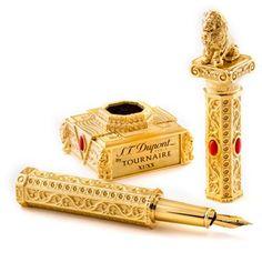 Soulmate24.com S.T. Dupont Lion Tournaire Fountain Pen Mens Style