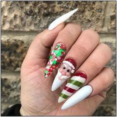143 glamorous glitter nail arts for christmas page 29   Armaweb07.com