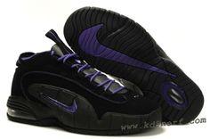 new product 1ac87 5d796 Nike Air Max Penny Phoenix Suns Black Club Purple Bright Mandarin, cheap  Nike Air Penny If you want to look Nike Air Max Penny Phoenix Suns Black  Club ...