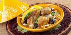 Recette : tajine poulet, pruneaux et miel